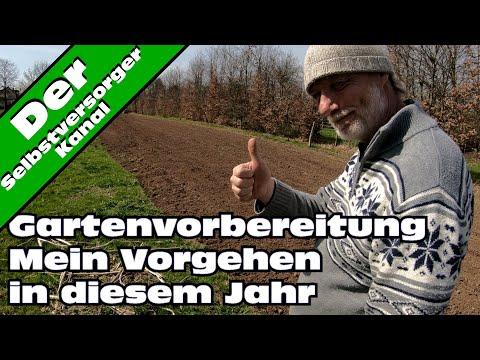 Pfluglose Bodenbearbeitung im Garten. Ein Versuch.