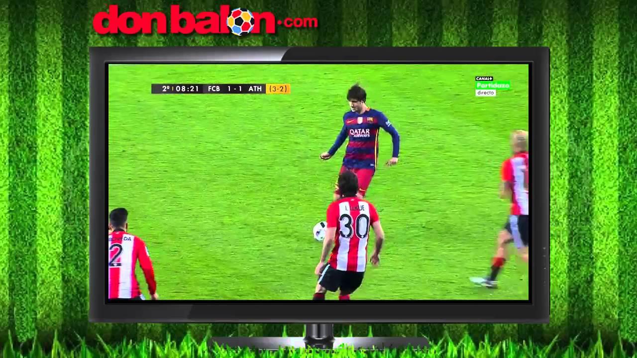 FC Barcelona 3 - Athletic Club 1 - Copa del Rey - YouTube