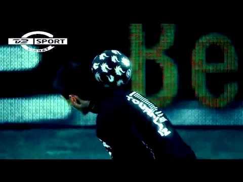 TV2-Sport Reklame - Freestyle Fodbold Trick