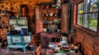 Интерьер деревенской кухни Дизайн современной кухни в деревенском стиле
