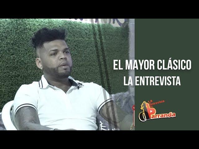 La entrevista al El Mayor Clásico nos muestra su millonario Ferrari y cuenta porque apoyo a Gonzalo