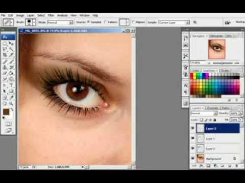 Как правильно нанести макияж в фотошопе