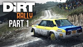 Dirt Rally Career Mode Gameplay Walkthrough Part 1 - FIRST RALLY (Console Version)