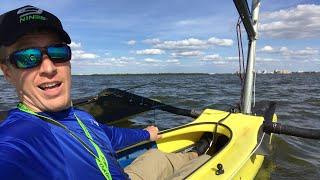 Windrider 16 Trimaran:  Sailboat/Kayak Hybrid