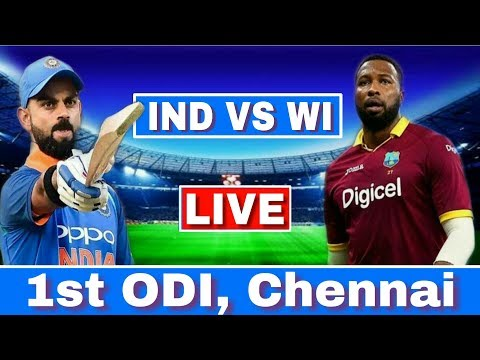 LIVE : India Vs West Indies 1st ODI | IND VS WI Today Match Live Streaming | Ind Vs Wi 1st ODI Live