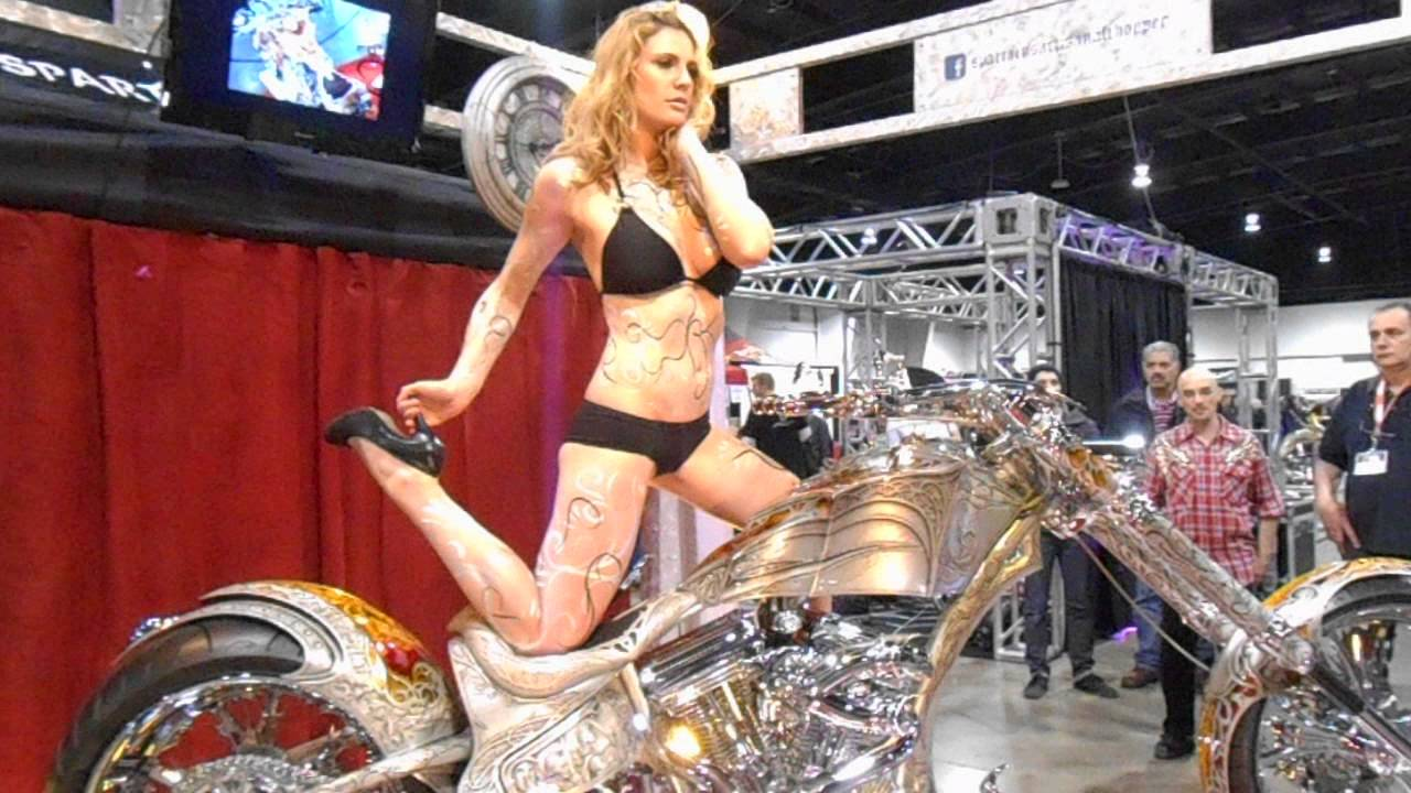 Thai Enduro Tours - Pictures from the Dec 2014 Custom ... |Custom Motorcycle Show Models