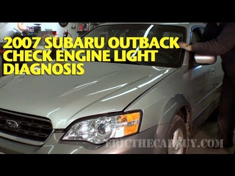 2007 Subaru Check Engine Light Diagnosis Ericthecarguy