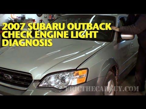 2007 Subaru Check Engine Light Diagnosis -EricTheCarGuy ...