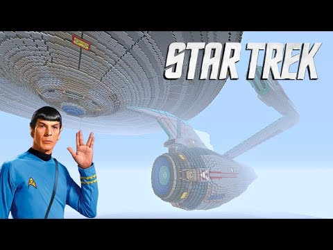 Episode 25: Minecraft World Tours (Huge Star Trek Enterprise)