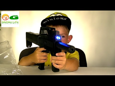 Детский автомат. Обзор игрушек: Игрушки для мальчиков. (детское оружие)