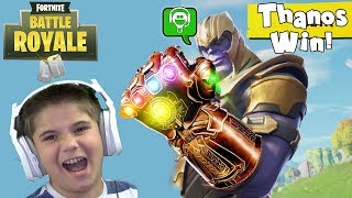 Fortnite Avengers Becoming Thanos
