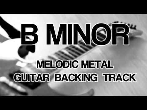 B Minor Melodic Metal / Metalcore Guitar Backing Track