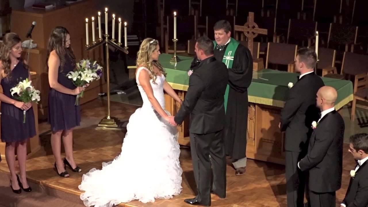 katie amp todds wedding ceremony youtube