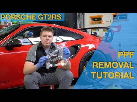 PPF Removal Tutorial - USING A STEAMER - Use this on ANY PPF