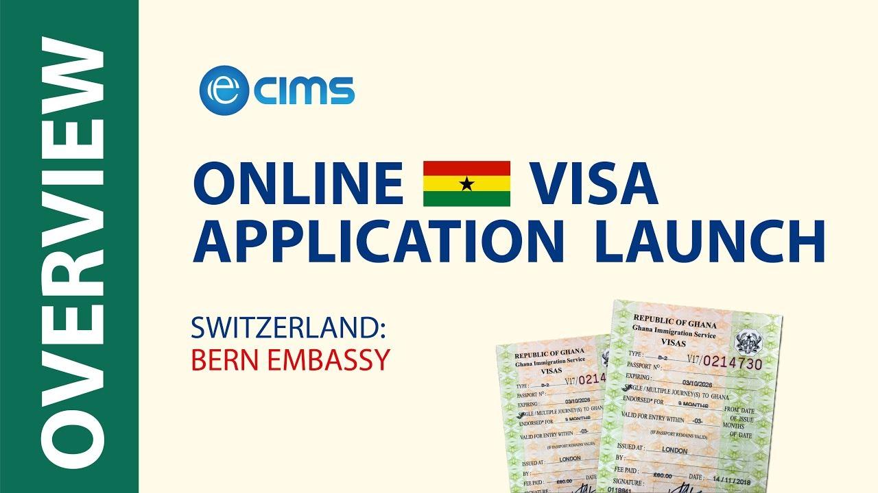Embassy Of Ghana Bern New Online Visa Application Youtube