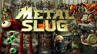 Los Enemigos Mas Dificiles De Metal Slug