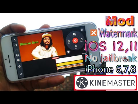 Kinemaster No Watermark App Or iPhone or iOS devices, No jailbreak required, Kinemaster pro for iOS