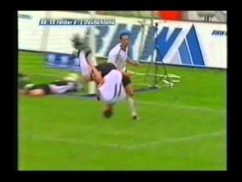 2003 (June 11) Faroe Islands 0-Germany 2 (EC Qualifier).avi