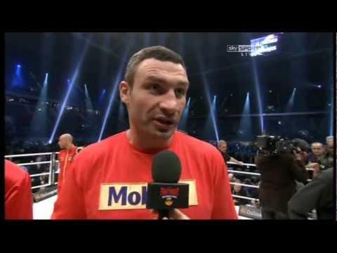 Vitali Klitschko 'I Will Be Happy To Fight David Haye'