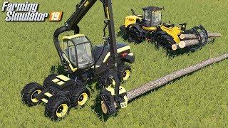 Wycinka drzew - Farming Simulator 19   #20