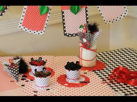 como decorar un cumplea os con cartulinas souvenirs