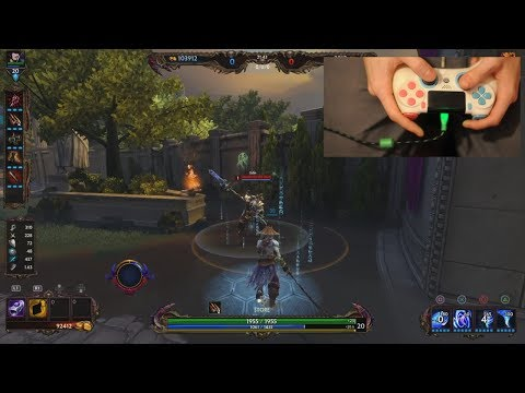 Smite - How to AA cancel on Console like a Pro( with susano)