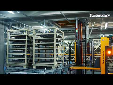 Jungheinrich Automated Guided Vehicles – Our Customer BMW Group