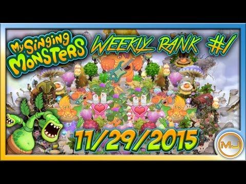 My Singing Monsters - [HQ Audio] Weekly Rank #1 (November 29 2015) |MP3 DOWNLOAD|