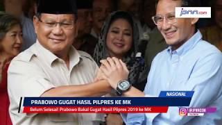 Belum Selesai! Prabowo Bakal Gugat Hasil Pilpres 2019 ke MK - JPNN.COM