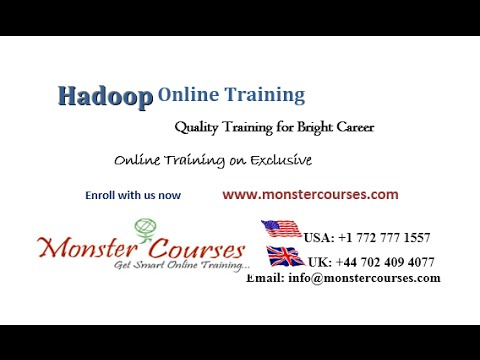 Hadoop Online Training | Big Data Hadoop Training Video ...