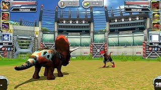 Jurassic Park Builder JURASSIC Tournament Android Gameplay - Max Level Torosaurus