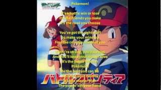 Pokémon Season 9 Theme Song Full lyrics
