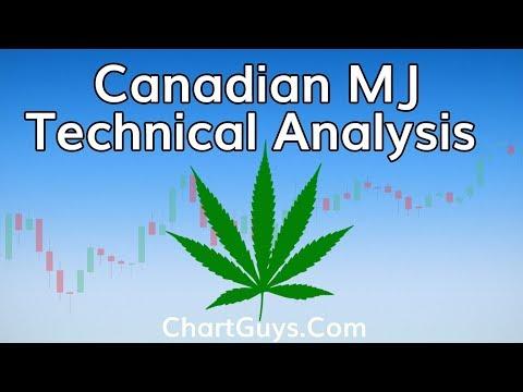 Canadian Marijuana Stocks Technical Analysis Chart 10/18/2018 by ChartGuys.com