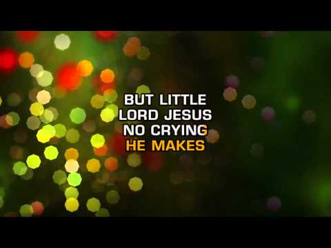"(HD) ""Away In A Manger"" Karaoke instrumental"