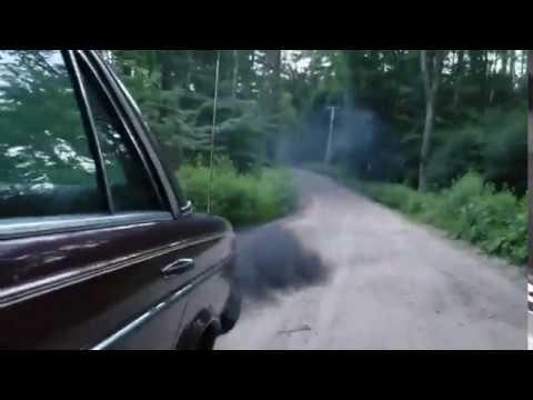 Rolling Coal In A W123 Turbo Sel
