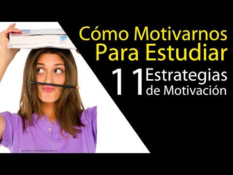 Cómo motivarse para estudiar. 11 estrategias clave + Material Descargable.