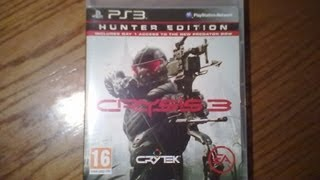 Crysis 3 Hunter Edition (PS3) - Unboxing