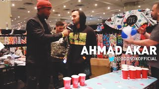 We Talk SOX & Sports w/ ODD SOX Ahmad at AGENDA NYC! 2015