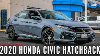 IN DEPTH LOOK at the 2020 Honda Civic Hatchback Sport