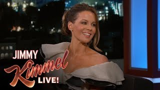 kate beckinsales daughter has a crush on jimmy kimmel