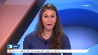 Formation : l'école d'Architecture de Versailles ouvre ses portes