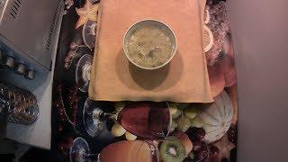 Русская кухня: Пшенный суп со скумбрией Home cooking: Millet soup with mackerel