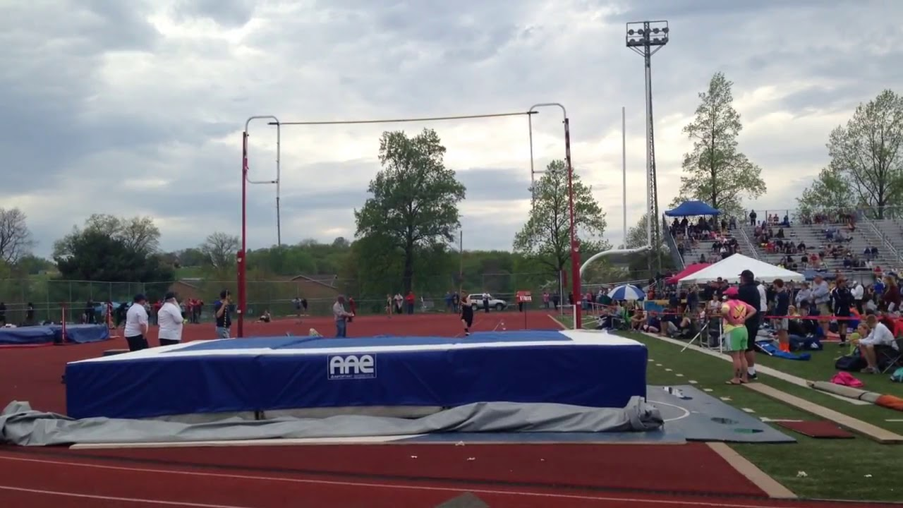 Funny Video: Guy Destroys Pole Vault
