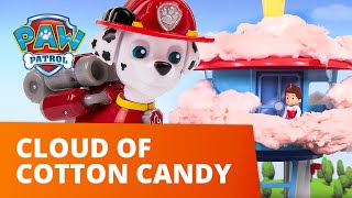 PAW Patrol   Cloud of Cotton Candy in Adventure Bay!   Toy Episode