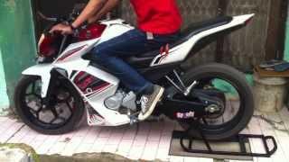 Vixion With Knalpot R9 Bandung