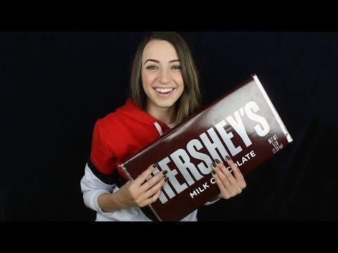 [ASMR] 5 POUND CHOCOLATE BAR