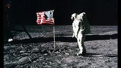 Historic Apollo 11 Moonwalk Footage