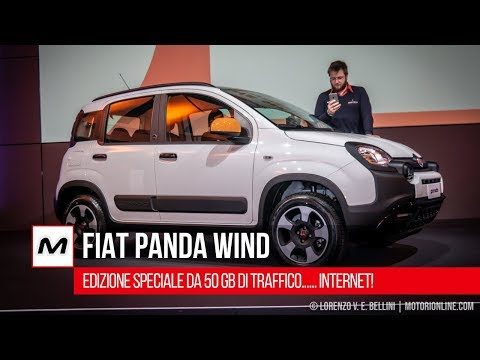 Fiat Panda Wind: una city car da 50 GB di traffico... Internet