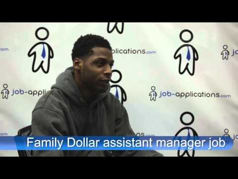 Family Dollar Interview - Assistant Manager
