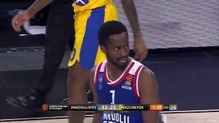 20.11.2018 / Anadolu Efes - Maccabi FOX Tel Aviv / Rodrigue Beaubois